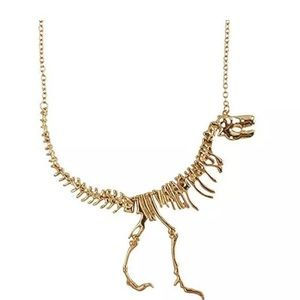 Jewelry - 💛🦕🦖💛 NEW!!  dinosaur skeleton necklace 💛🦖